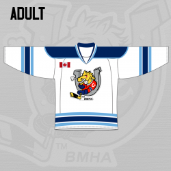 Adult Jersey Home - White
