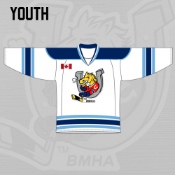 Youth Jersey Home - White